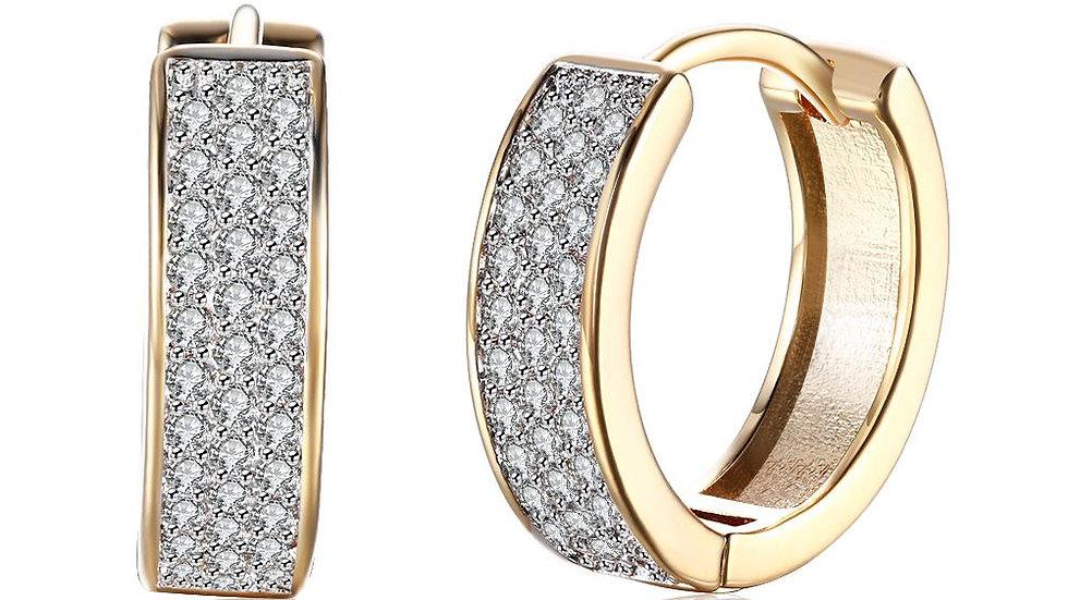 Huggie Earring in 18K Gold Plated