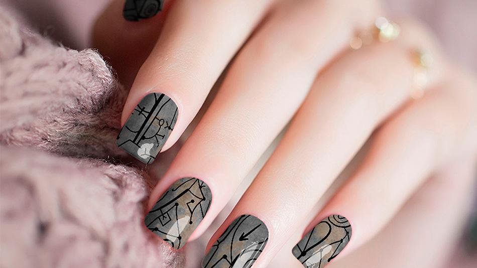 Ancient Ancestors Nail Stickers
