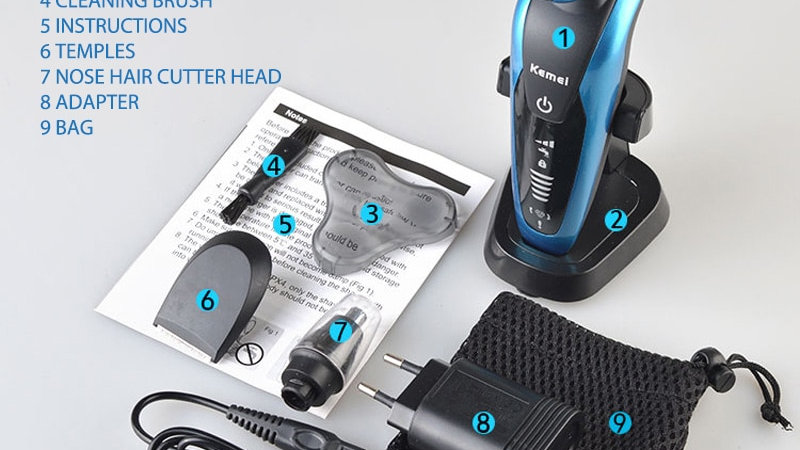 Men's Electric Hair Trimmer ( Cordless)