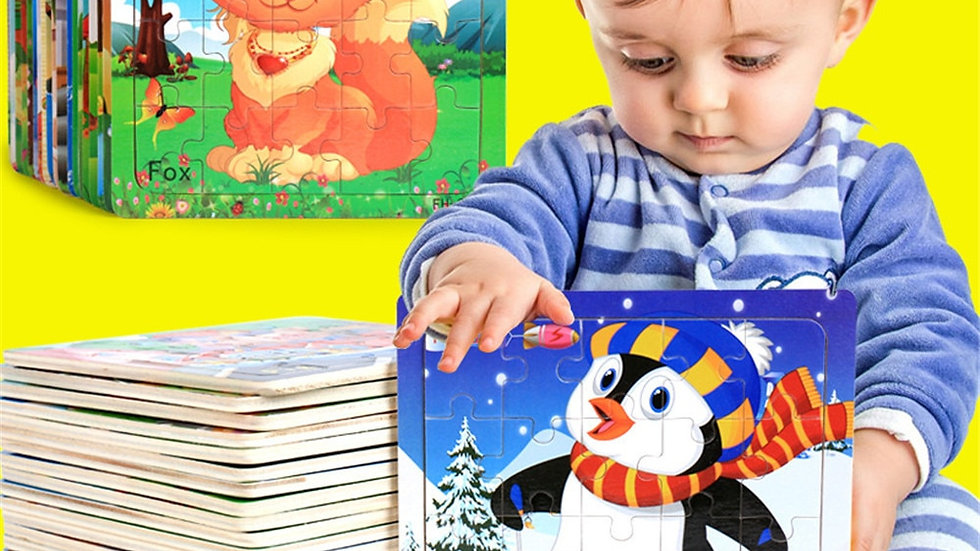 Wooden Puzzle for Kids - Educational