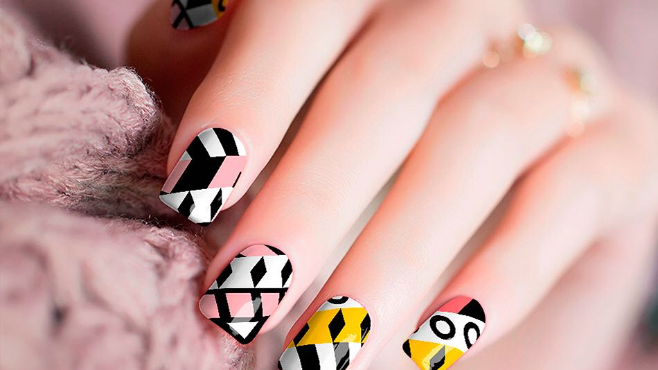 Modern Style  Nail Stickers