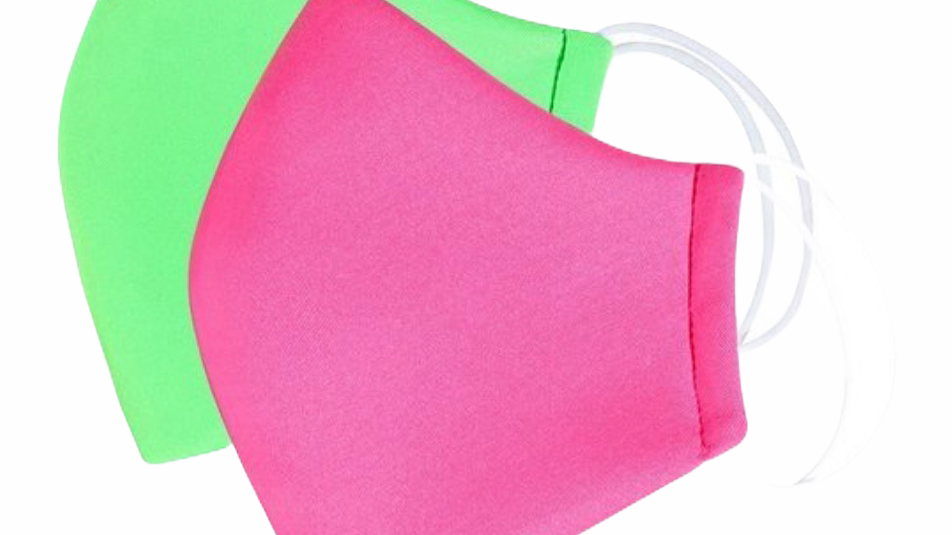 Neon Filter Face Mask