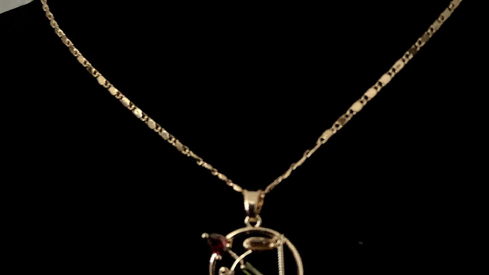 Cupido Love Necklace with Earrings