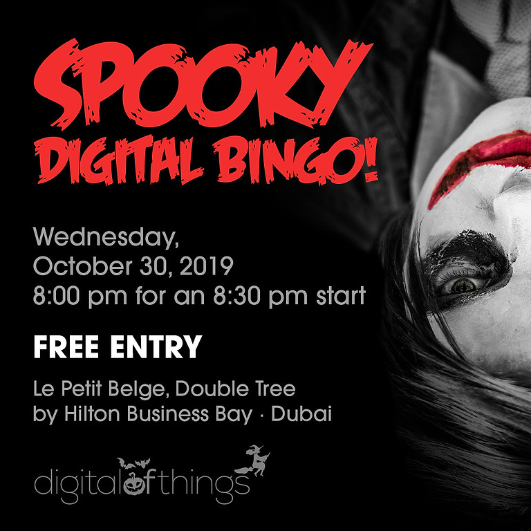 Spooky digital bingo