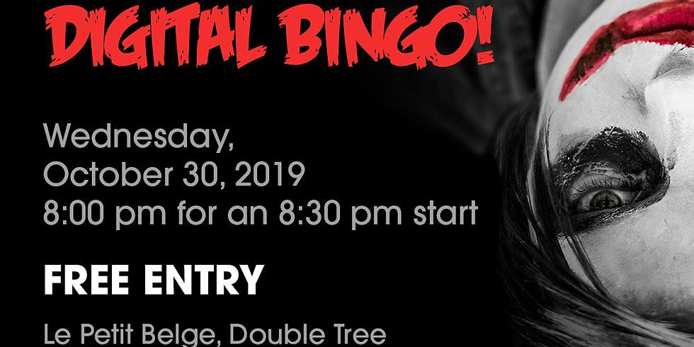 Spooky digital bingo