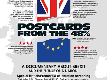 EVENT Postcards from the 48%