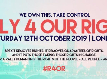 EVENT  Rally 4 Our Rights #R4OR