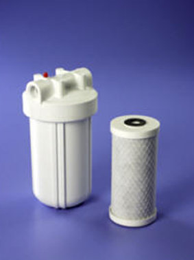 Poultry Filter Housing for 4.5 x 10 water filters