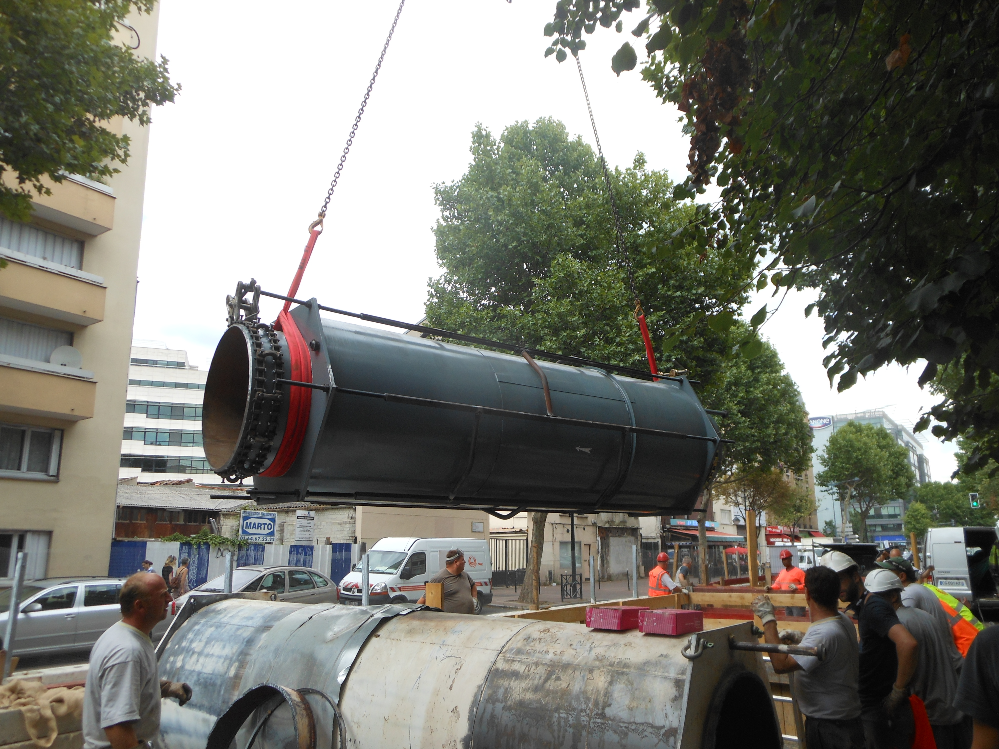 SFZ _ CPCU - Compensateur chauffage urbain