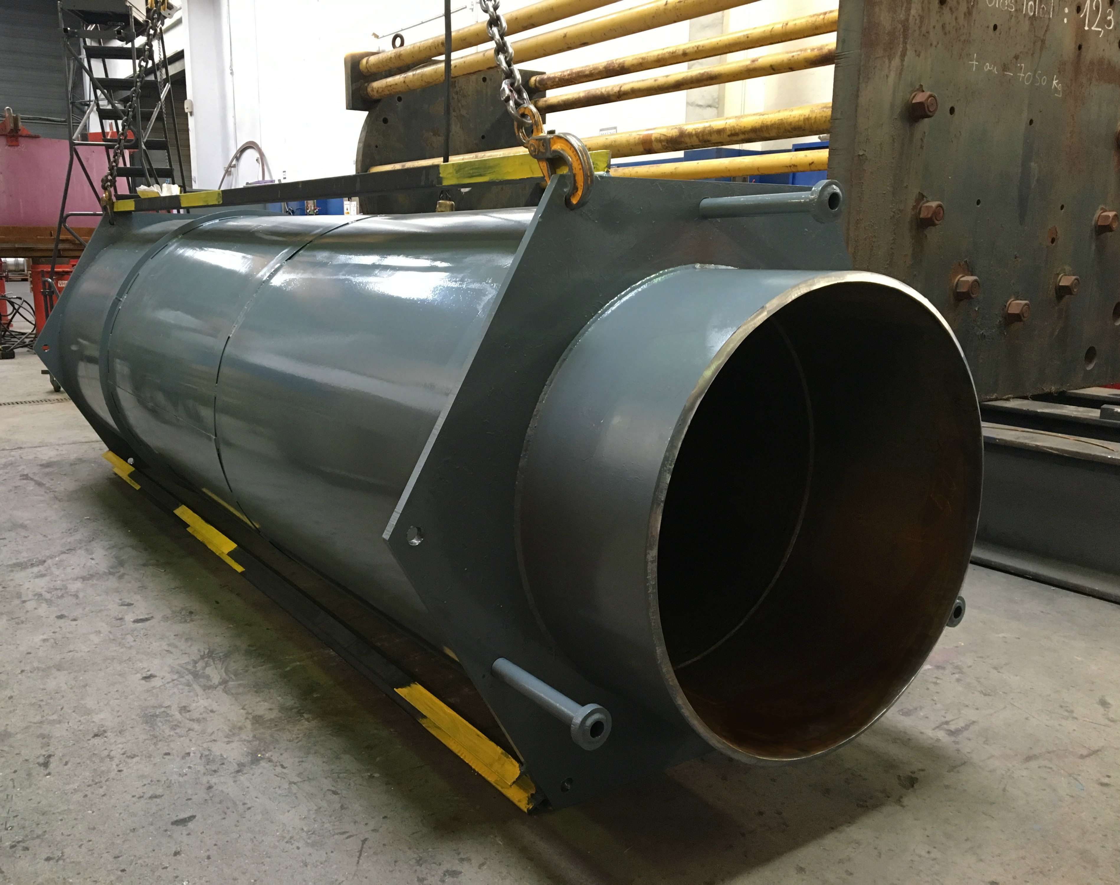 SFZ - Compensateur chauffage urbain - Diamètre 950 mm - Vapeur 20 bar