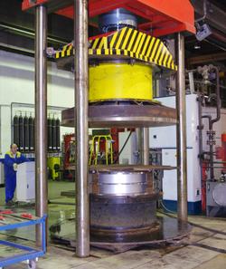 Hydroformage sur presse de 500T