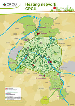 Paris district heating network CPCU_SFZ