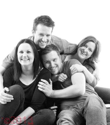 Cheryl, Mark, Dan & Sarah
