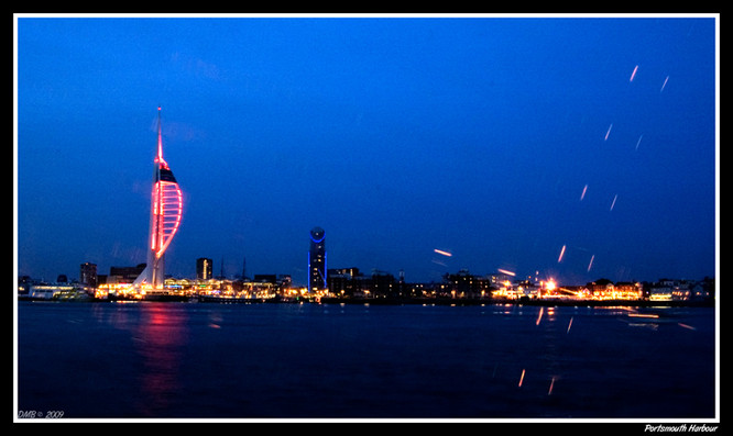 Portsmouth Harbour.
