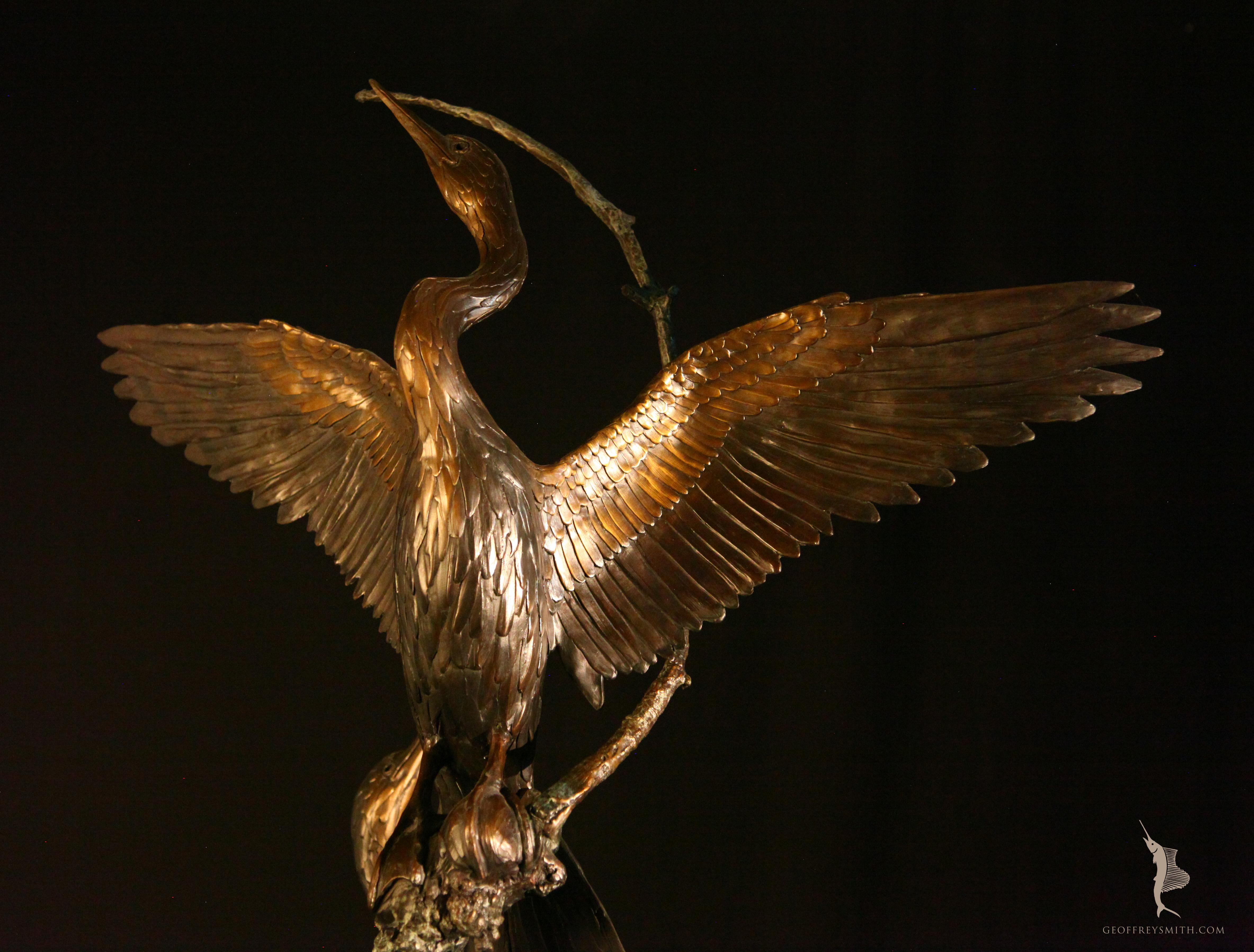 Anhinga Sculptures