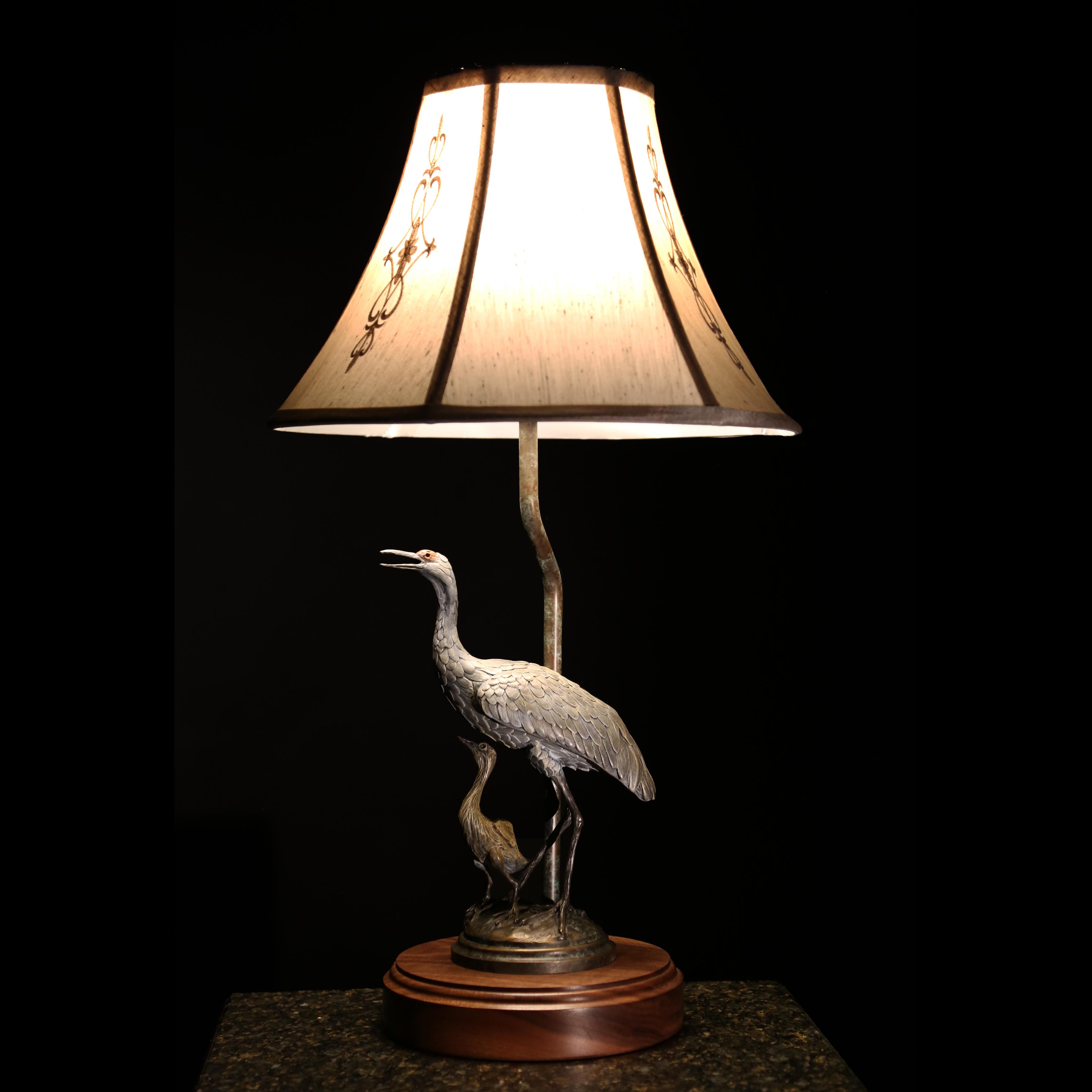Sandhill Crane Lamp