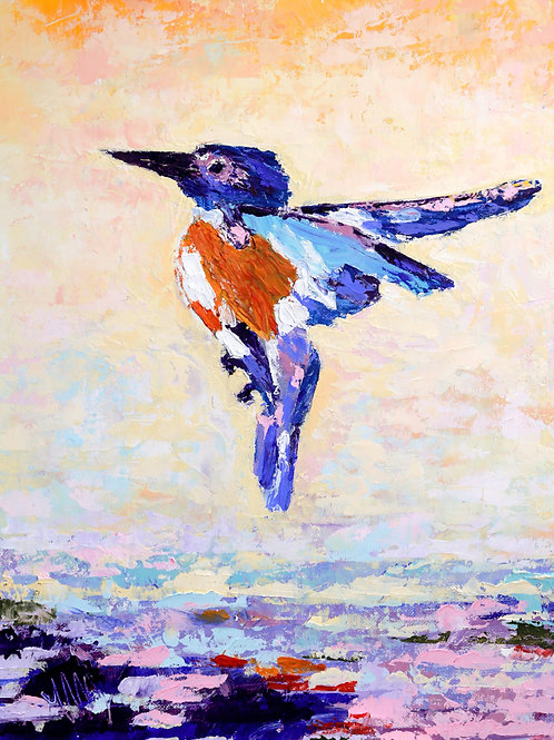 Fav Kingfisher Flying