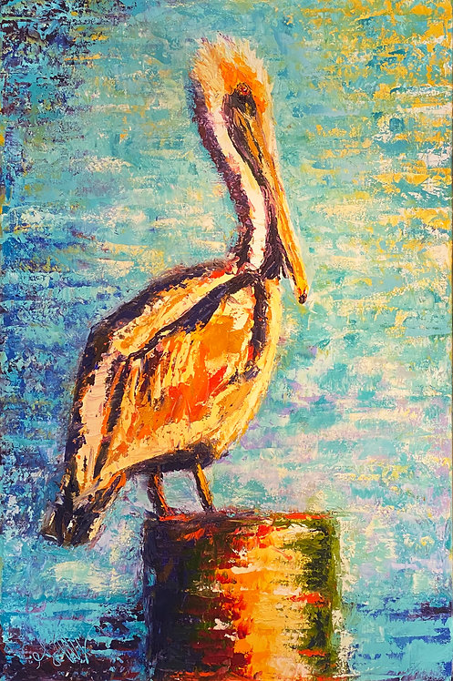 Fav Pelican on a Piling