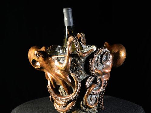 Pieces of Eight Octopus Wine Bucket
