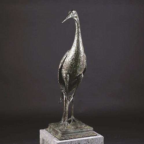 Sandhill Crane Standing, Life-Size