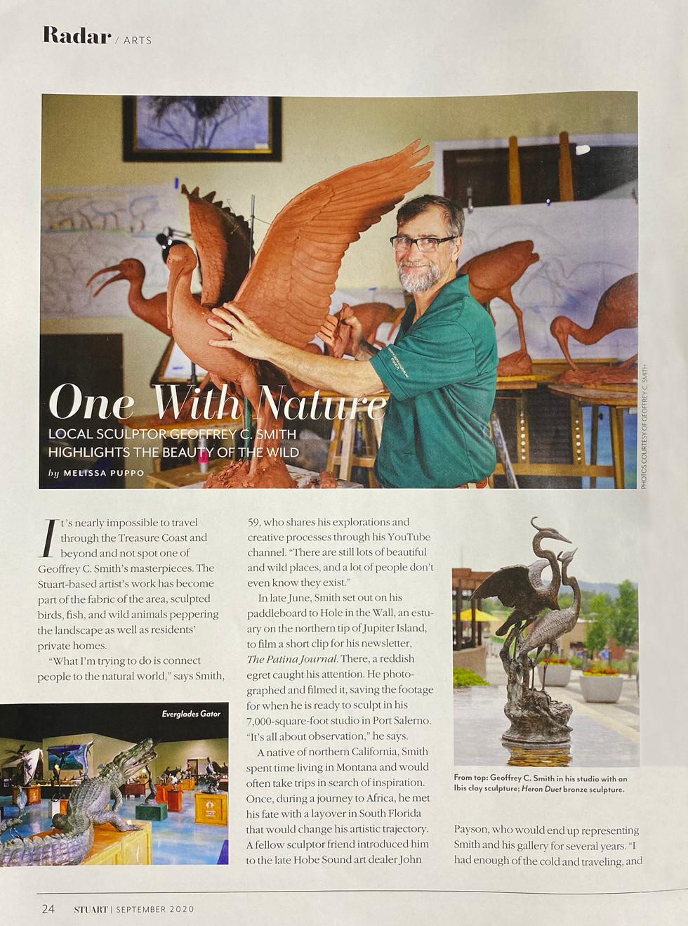 Stuart Magazine - Geoffrey C. Smith Article