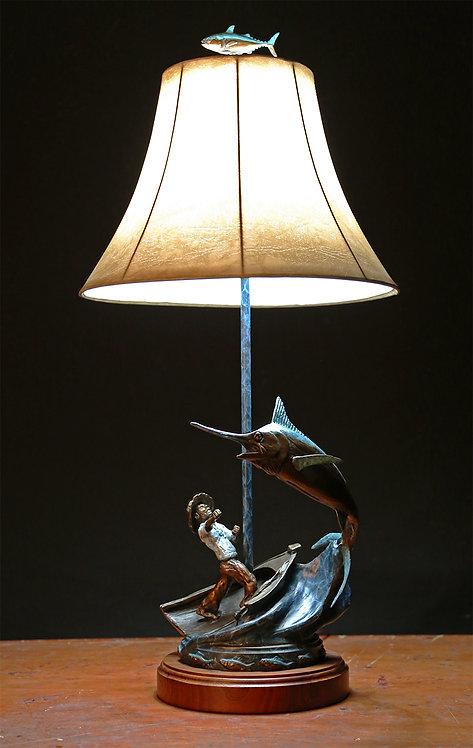 Old Man and the Sea Lamp