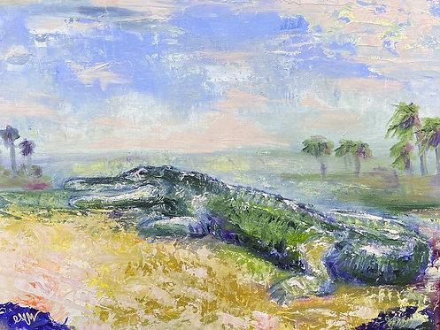 Gator Painting