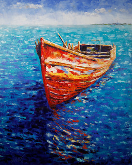 Passing Time - Red Boat