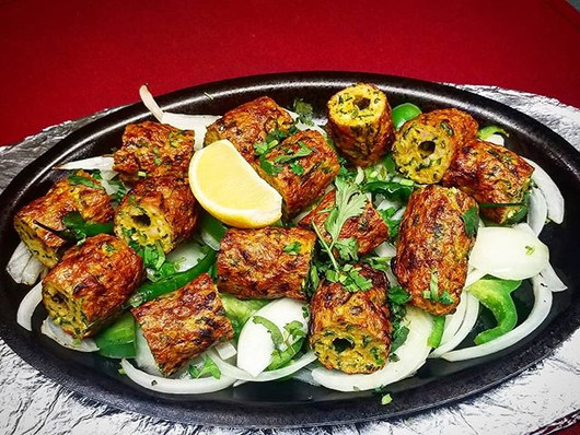 Try some mouth watering Seekh Kebab at A