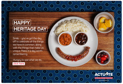 Actuate Heritage Day Postcard 22 Sept 20