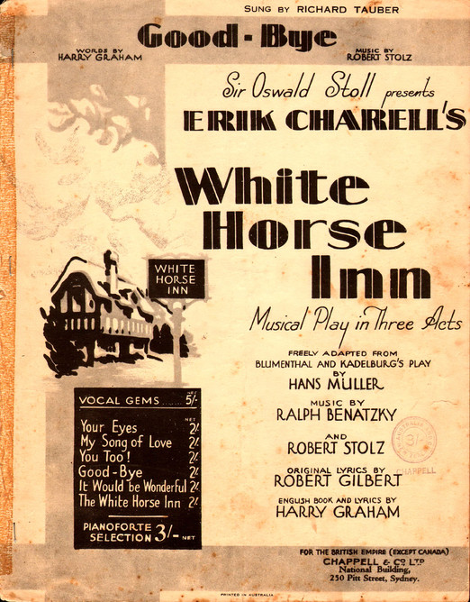 The White Horse Inn 1981