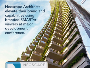 Neoscape -- showcasing the future using virtual reality