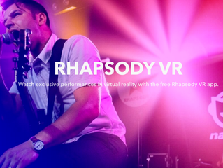 Rhapsody brings music to your face with VR experience