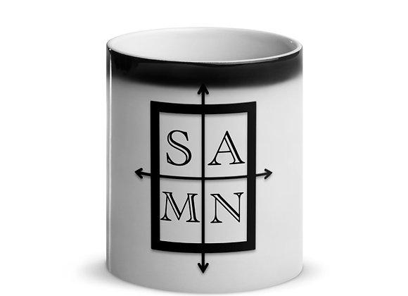 SAMN Logo Glossy Magic Mug