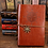 Thumbnail: Vintage Pirate Anchors Leather Notebook