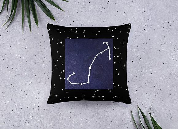 Scorpio Zodiac Basic Pillow