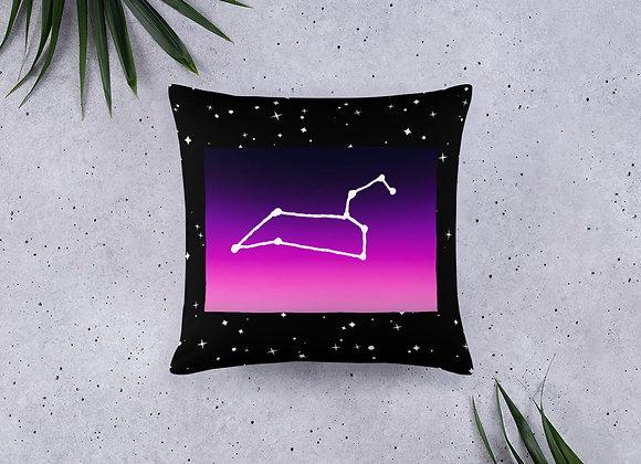 Leo Zodiac Basic Pillow