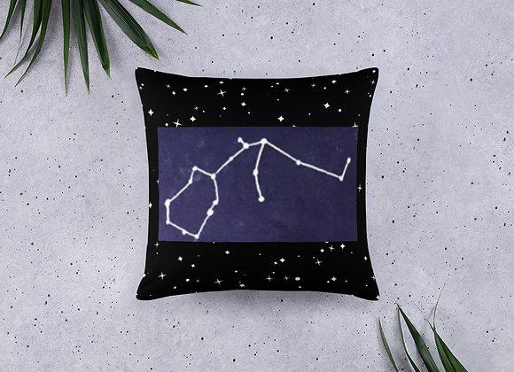 Aquarius Zodiac Basic Pillow