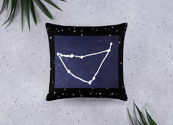 Capricorn Zodiac Basic Pillow