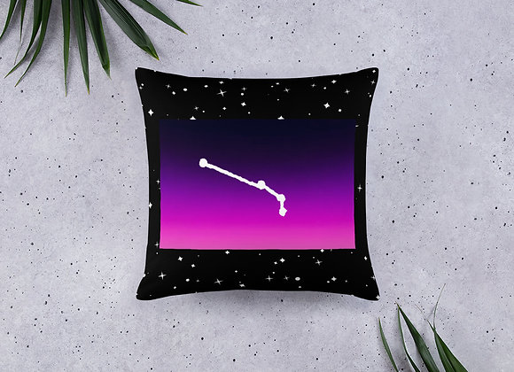 Aries Zodiac Basic Pillow