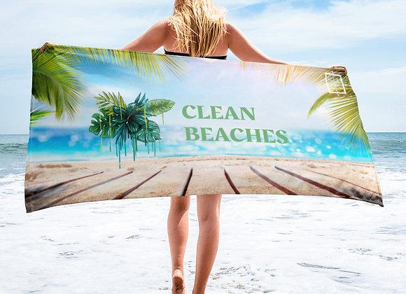 Clean Beaches Towel