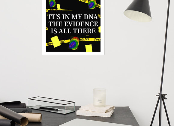 It's in my DNA Gay Pride Poster