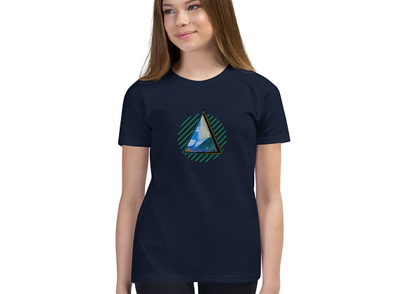 Climate Change Delta Youth Short Sleeve T-Shirt