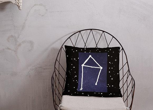 Libra Zodiac Basic Pillow
