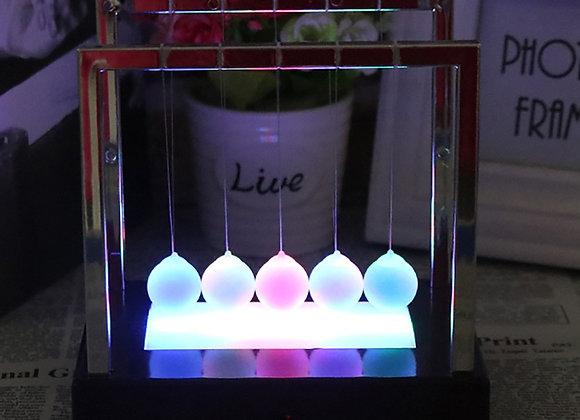 Newtons Cradle LED Light Up Decor