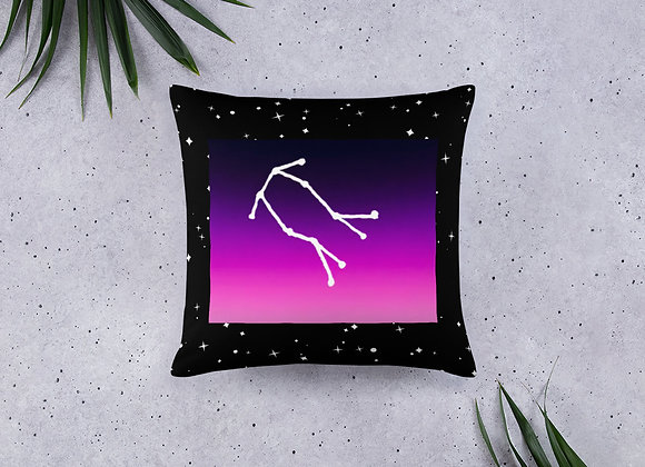 Gemini Zodiac Basic Pillow