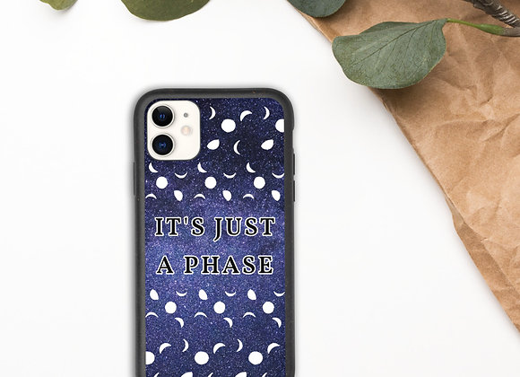 Moon Phase Biodegradable phone case
