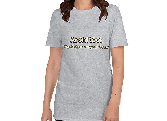 Architect Short-Sleeve Unisex T-Shirt