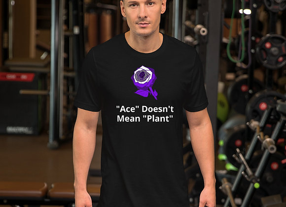 Asexual Flower Unisex T-Shirt