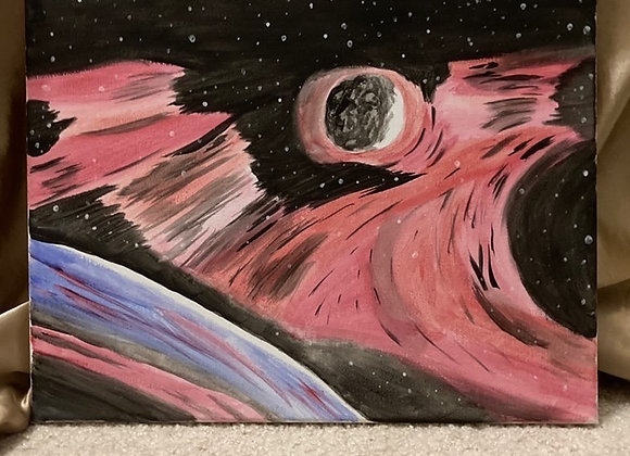 Remnant to Nebula Painting